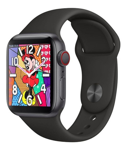 Relógio Smartwatch  44mm Fit Bluetooth Chamada Ios Android