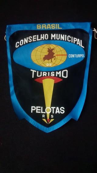 Flâmula Antiga Anos 60 Brasil Conselho Municipal De Turismo