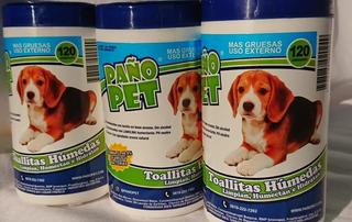 Paño Pet Toallitas Humedas X 120 Unidades Faunatikos