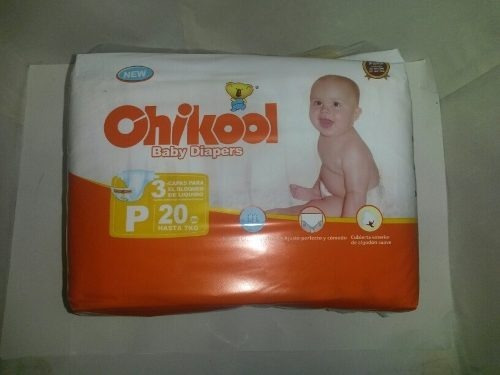 Paquete Panales Chikool Importados Talla P