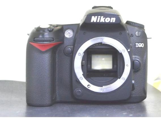 Nikon D90 Corpo Usada + Nota Fiscal + Garantia