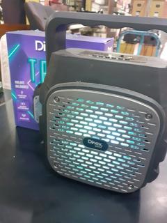 Parlante Portátil Inalámbrico Dinax Tron Bluetooth Usb Sd Fm