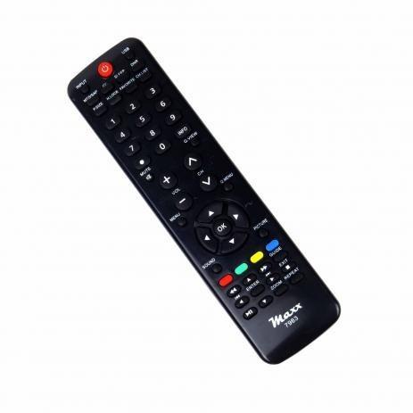 Controle Remoto Para Tv Lcd H-buster - Maxx