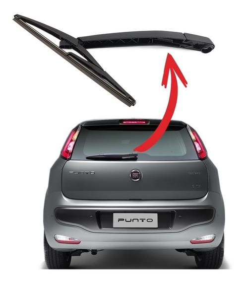 Braço Limpador Traseiro + Palheta Fiat Punto 2011 2012 2013