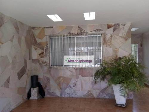 Sobrado Com 3 Dormitórios À Venda, 280 M² Por R$ 650.000,00 - Alto Do Ipiranga - São Paulo/sp - So0955