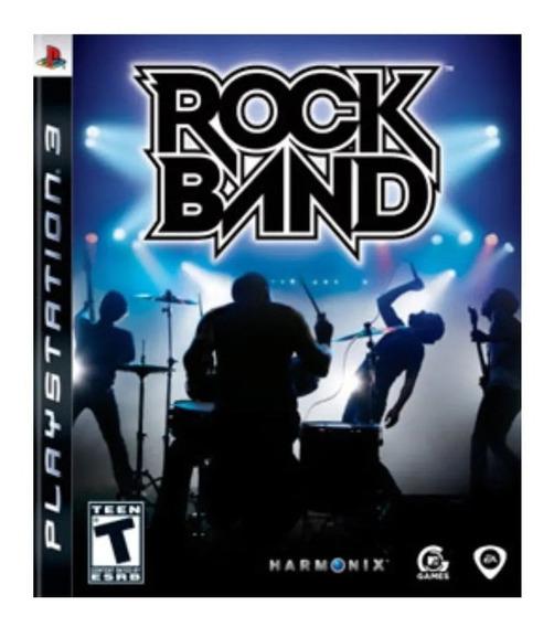 Rock Band Ps3 | Mídia Física Original