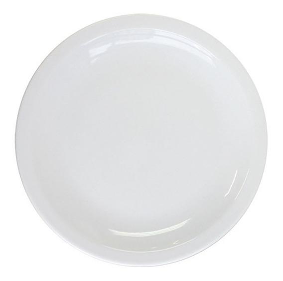 Plato Playo 25cm Tsuji Porcelana Linea 450 Sin Sello