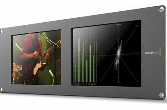 Blackmagic Design Smartscope Duo 4k Rack 6g Sdi