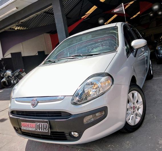 Fiat Punto 1.4 Attractive 2013 Prata