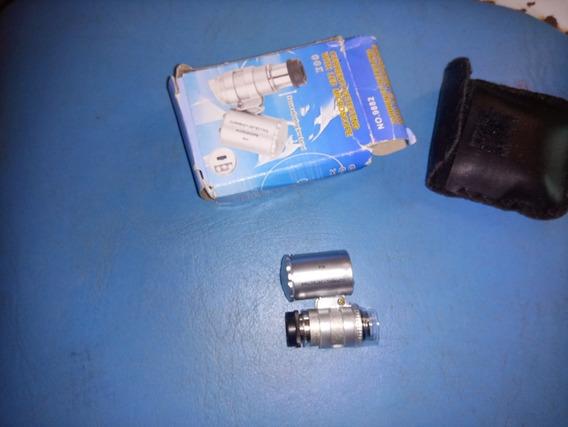 Mini Microscópio Com Lâmpadas( Led).