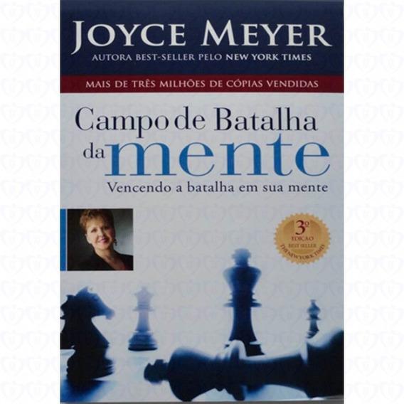Livro Joyce Meyer - Campo De Batalha Da Mente - C. Dura