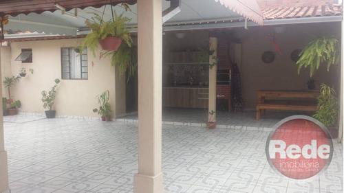 Casa Residencial À Venda, Parque Novo Horizonte, São José Dos Campos. - Ca3956