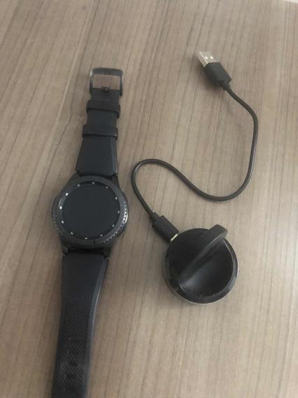 Relógio Samsung Gear S3 Frontierland . Apenas Um Ano De Uso.
