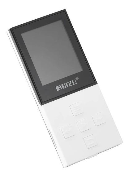 Mp3 Player Ruizu X18 8gb Pen Drive Fone Multimídia Bluetooth