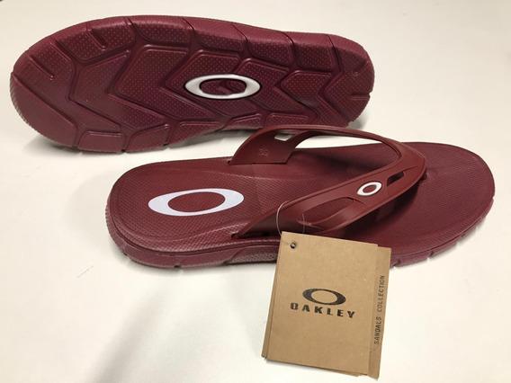 Chinelo Oakley Operative Novidade Original Promoção
