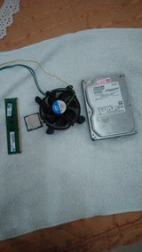 Kit Memoria + Prossesador + Hd 500gb +cooler