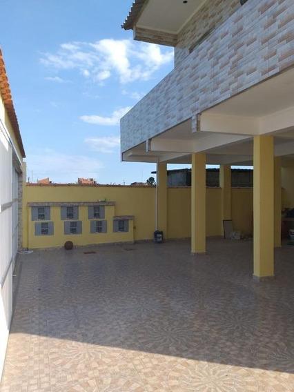 Sobrado Em Balneário Japura, Praia Grande/sp De 0m² 1 Quartos À Venda Por R$ 125.000,00 - So131072