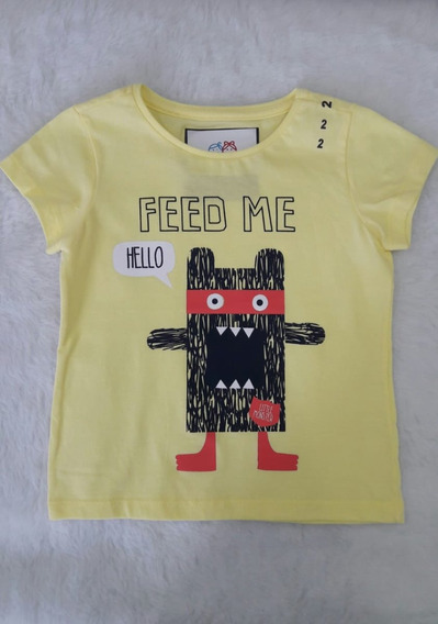 Camisetas Infantil Meninos - Kit 04 Unidades