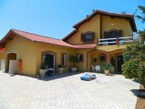 Casa Em Parque Balneário Oásis, Peruíbe/sp De 160m² 4 Quartos À Venda Por R$ 350.000,00 - Ca593842