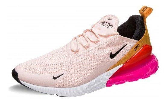 Tenis Nike Air Max 270 Coral, Rosa,amarillo, Original 100%