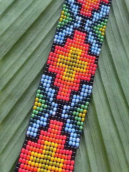 Braceletes Indígenas De Miçanga. Xamânica. Frete Grátis