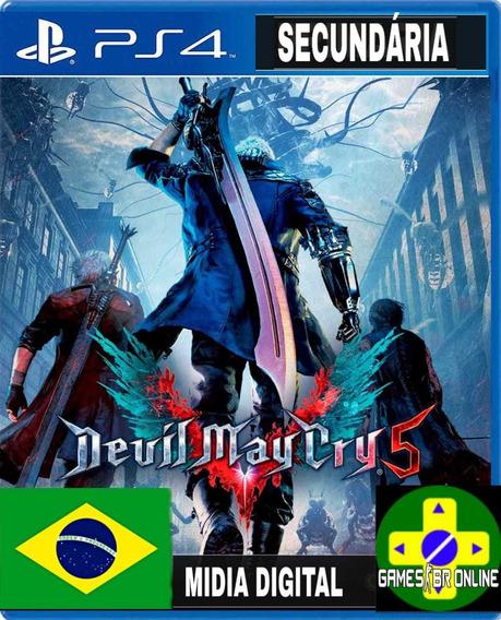 Devil May Cry 5 - Ps4 Code 2 Leg. Portugues Envio Já