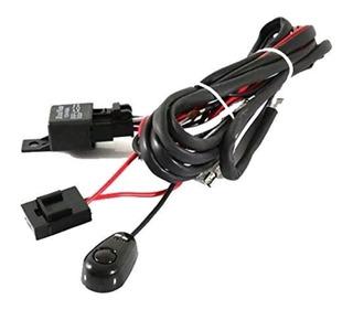 Kit Cableado Con Relay Y Switch De Encendido Para Barra Led