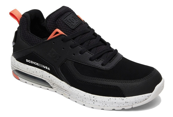 Tenis Para Caballero Vandium Dc Shoes Color Negro