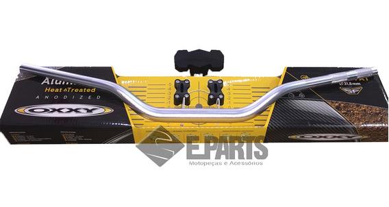 Guidao Cross Oxxy Fat Bar 31,8mm Alto Polido Kit Adap+pad