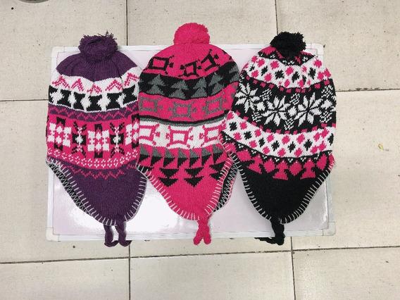 Touca Peruana Andina Ou Chaves Com Proteção Orelhas Com 2
