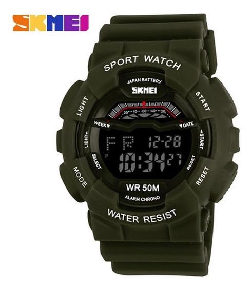Relógio Skmei 1012 Esportivo Led Original Promoção C/caixa