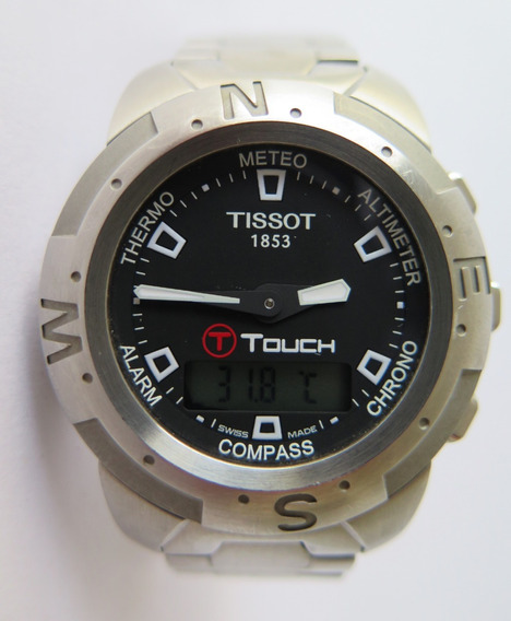 Relogio Tissot Touch T33.1.598.51 - Mod: Z252/352