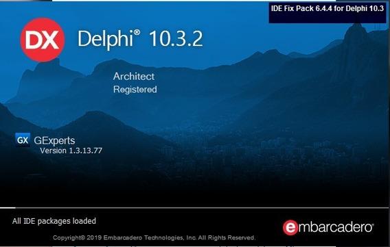 Delphi 10.3.2 + Devexpress Vcl 19.1.2 + Fastreport 6.4.11