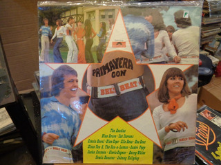 Primavera Con Belt Beat Beatles Johnny Halliday Disco Lp K