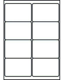 Etiquetas 10h Autoadhesivas A4 99.1x67.7mm Eeuu E5022