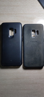 Samsung S9 Alcântara Case Original + Caseology Legion Series