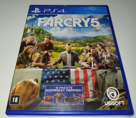 Farcry 5 V Ps4 Mídia Física Usado