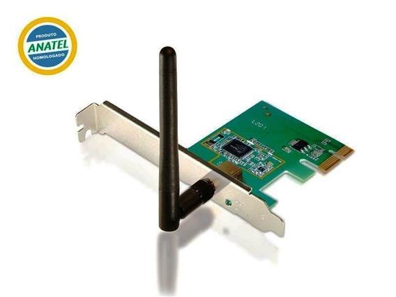 Placa De Rede Comtac Pci-e Wireless N 150mbs 9213
