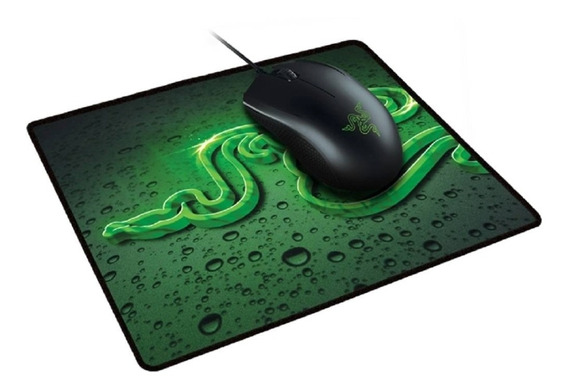 Combo Gamer Mouse Abyssus 2000 E Mousepad Goliathus Speed S