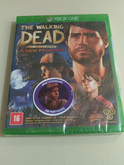 The Walking Dead - A New Frontier - Xbox One - Novo Lacrado