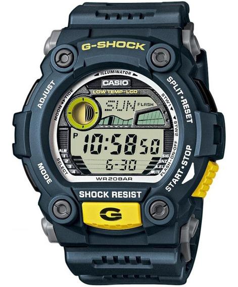 Relógio Casio G-shock Tábua De Maré G-7900-2dr * G-rescue