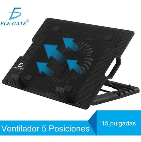 Ventilador Para Laptop Base Enfriadora De 5 Posiciones Clr15