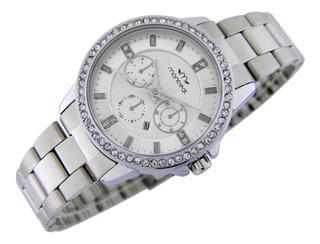 Reloj Montreal Mujer Ml717 Sumerg Calend Envío Gratis