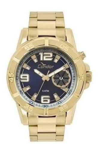 Relógio Condor Civic Dourado Masculino Garantia Nf