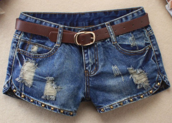 Short Jeans Feminino Lycra Kit C/3 Bermudas Grande Plus Size