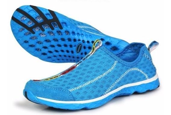 Tênis Triathlon, Sapatos Que Vão Da Água Ao Ar Livre