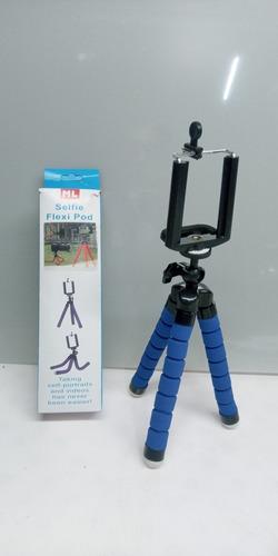 Tripé Para Celular E Câmera Ajustável Varias Cores