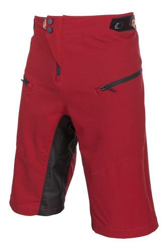 Pin It Shorts Red/orange