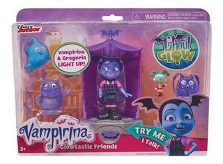 Playset Glowtastic Vampirina Y Gregoria + 2 Acc Disney Store