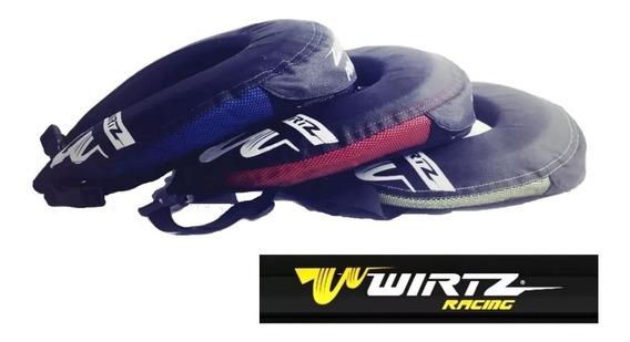 Cuello Protector Cervical Motocross Wirtz Pro Neck Brace Rpm